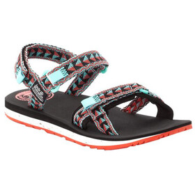 Jack Wolfskin Outfresh Sandals Women, black/aquamarine